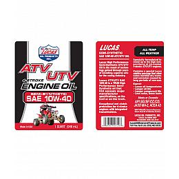 زيت 10W40 لمحركات  ATV / UTV