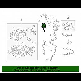 نظام التخلص من ابخرة الوقود فورد توريس (9052-9C915H)